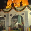 Shrine At Night