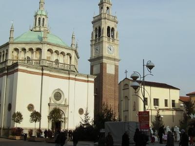 Shrine Of Santa Maria Di Piazza.