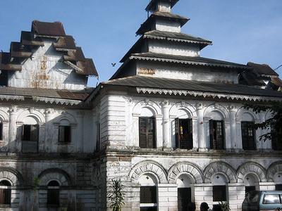 Shwe Zedi Monastery Sittwe
