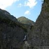 Simms-Wasserfall, Holzgau, Austria
