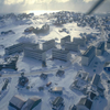 Snow Covered Sisimiut Town