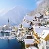 Snow Over Hallstatt - Austria