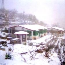 Snow Time At Resort