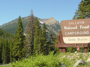 Soda Butte Campground