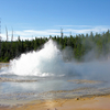 Solitary Geyser - Yellowstone - USA