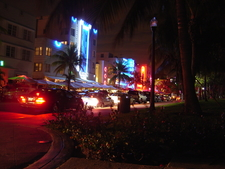 South Beach Miami At Night