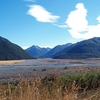 South Island NZ View Arthur's Pass Landscape - South Island NZ