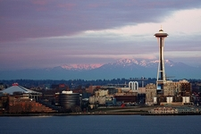 Space Needle With Seattle Skyline WA