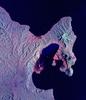 Space Radar Image Of Rabaul Volcano - Papua New Guinea