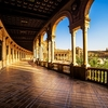 Spanish Square In Seville - Andlusia Spain