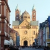 Speyer Maximilianstrae With Cathedral