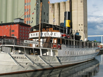Ss Norrtelje In The Norrtlje Harbour