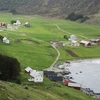 Village Of Årvik On The Stad Peninsula