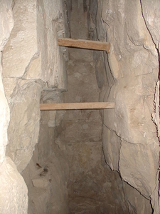 Stairways Inside The Pyramid