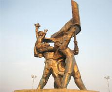 Statue of Dien Bien Phu Victory
