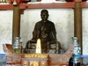 Statue Of  Xuanzang  Wild  Goose  Pagoda