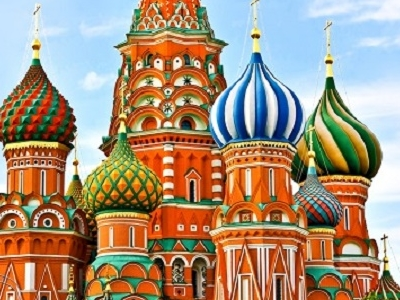 St. Basil's Cathedral - Moscow Red Square
