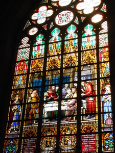 St Michael And Gudula Cathedral Window