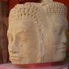 Stone Head Of The Khmer Empire Period