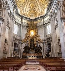 St. Peter's Basilica Altar - Vatican