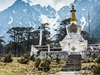 Stupa @ Yumthang In Sikkim