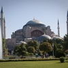 Sultan Ahmed Mosque With Fountain & Garden