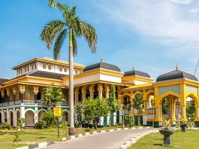 Sultan's Palace Maimoon In Medan - Indonesia