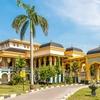 Sultan's Palace Maimoon In Medan - Sumatra