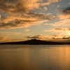 Sunrise Over Rangitoto Island NZ