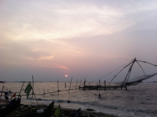 Sunset At Fort Kochi