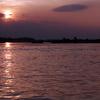 Sunset In Krati Province