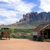 Superstition Mountains Backdrop AZ