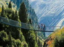 Suspension Bridge Vent Austria