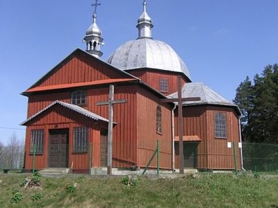 Szczutkow's Greek Catholic Church of St. Dmitri The Martyr