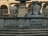 Fountain in Piazza Santa Maria