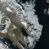 Sea Ice Off Baffin Island