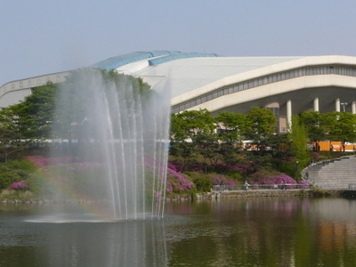 Jamsil Indoor Swimming Pool Seoul South Korea Tourist Information