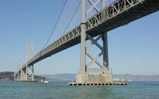 Two Spanned Double-Deck Suspension Bridge