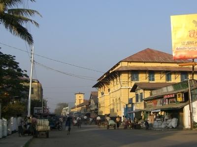 Sittwe Main Street