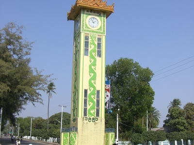 Sittwe New Clock Tower