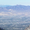 Salt Lake Valley From Hidden Peak