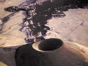 S P Crater