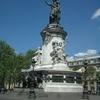 Monument At Place De La Republique