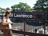 St. Lawrence Avenue Station