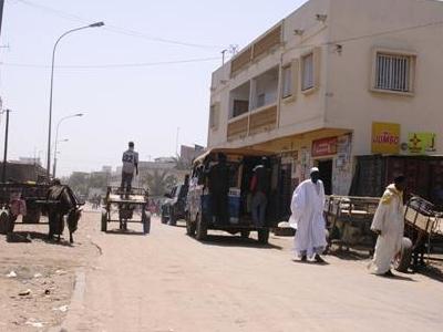 Street Scene In Thiaroye