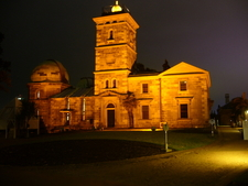 Sydney Observatory At Night