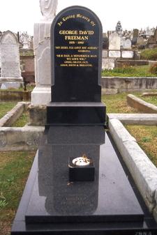 Grave Of George Freeman