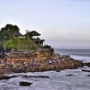 Tanah Lot - Temple On The Rock In Bali