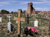 Taos Pueblo Cemetery & Old Church Ruins - New Mexico