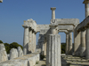 Temple Of Aphaia  At Aigina - Saronic Gulf - Greece